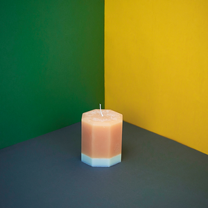 Load image into Gallery viewer, Blonde Tobacco & Honey Octagon Candle
