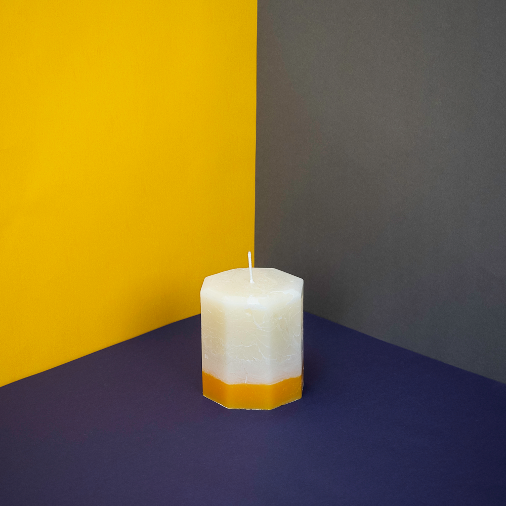 Ginger & Lime Octagon Candle