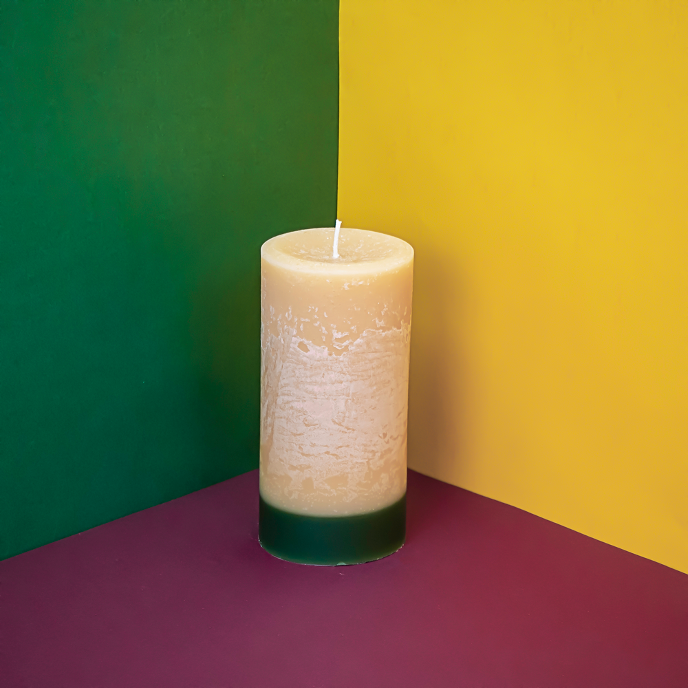 Winter Spice Pillar Candle
