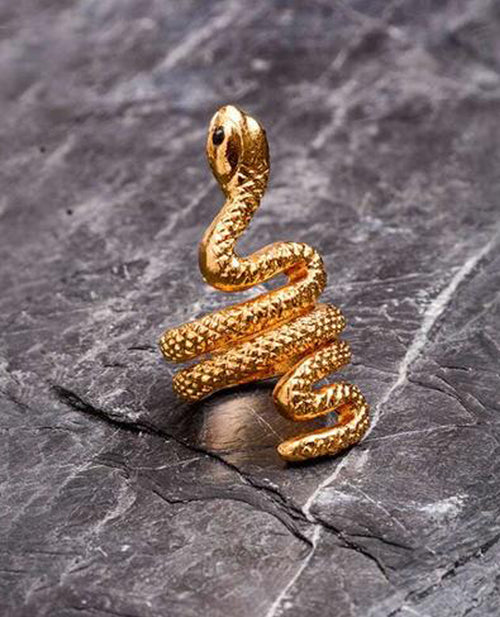 Lina Echeverry Snake Ring