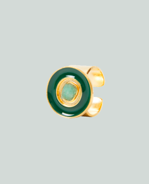 Nature Power Ring Green