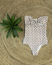 Fiji One Piece Polka Dots Pink