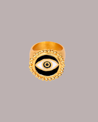 Black Third Eye Ring