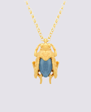 Mani Maalai -  Mosquita Necklace Blue