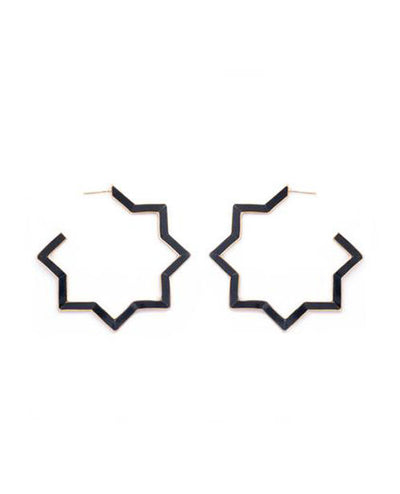 Hadid Earrings Onyx