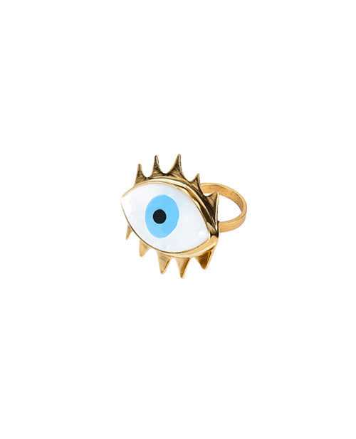 Eye Lash Mini Ring