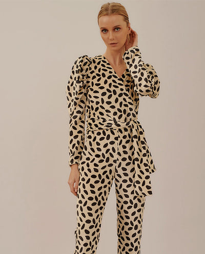 Long Sleeve Jumpsuit Batti Fiesta Oasis - Boho Hunter