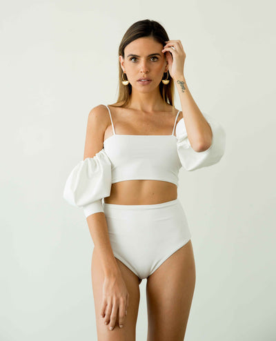 Nass Two Piece White - Boho Hunter