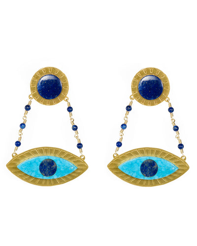 Eye See You Earrings - Boho Hunter