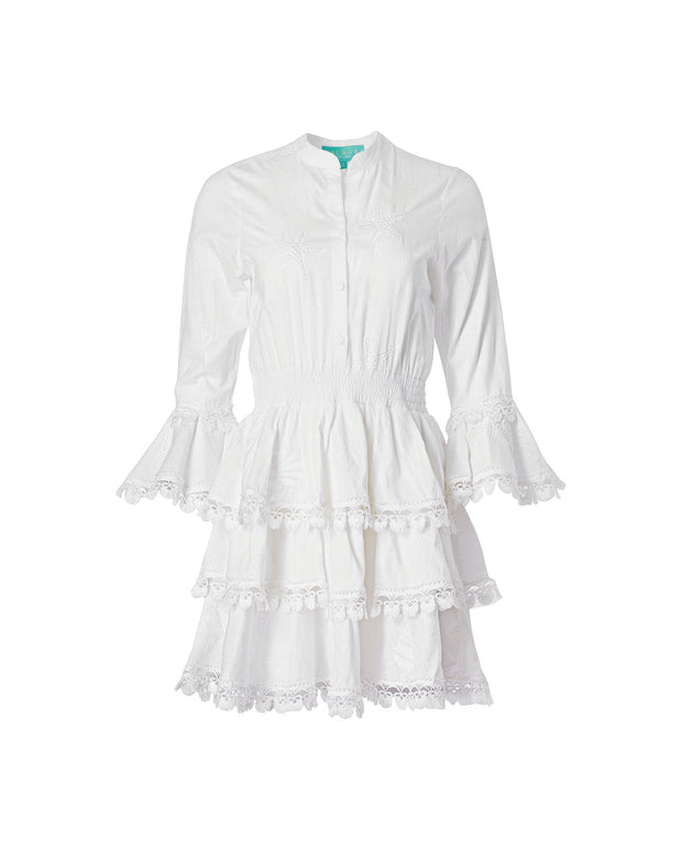 Calamaro Tunic White - Boho Hunter