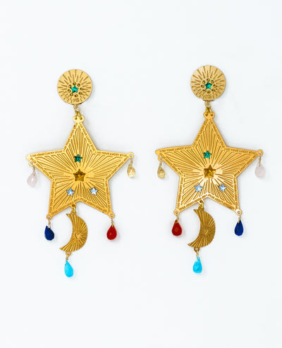 Northern Star Earrings - Boho Hunter