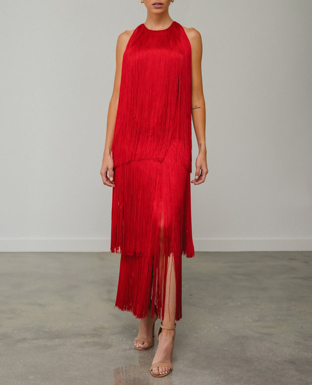 Sol Dress Red