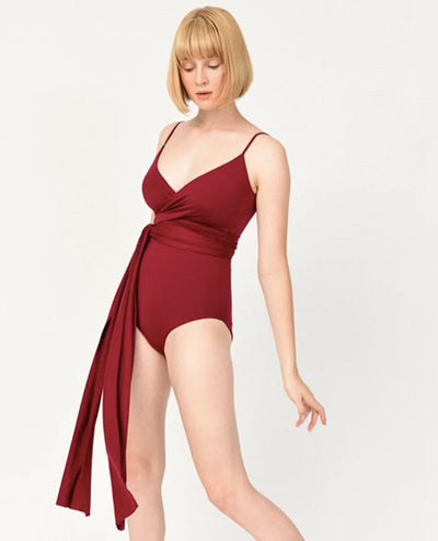 Maurea One Piece Burgundy