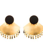EK Mother Black Earrings