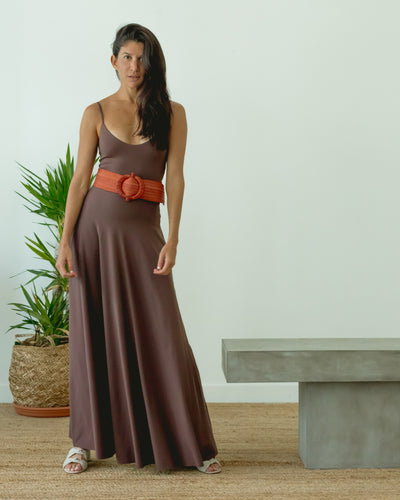 Tierra Dress Brown - Boho Hunter