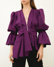 Colon Jacket Purple