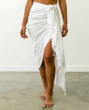 Tulum Skirt White