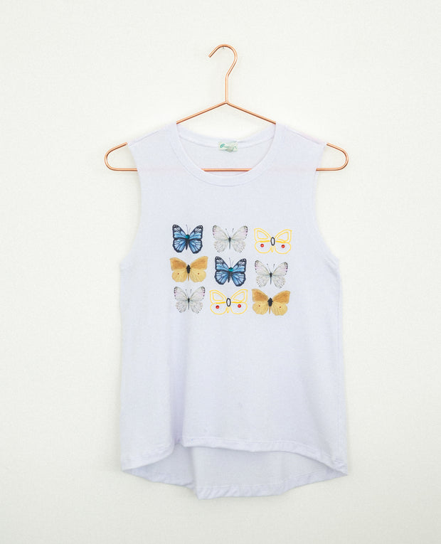 T-Shirt Multicolor Butterflies
