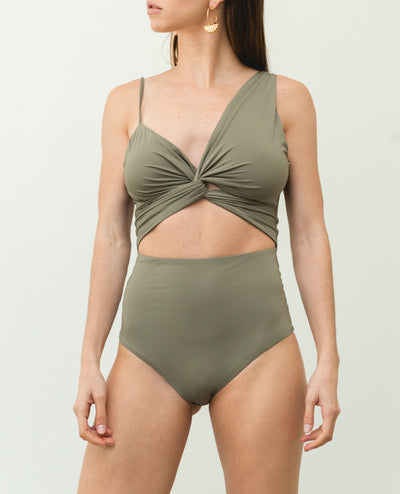 Glan One Piece Green