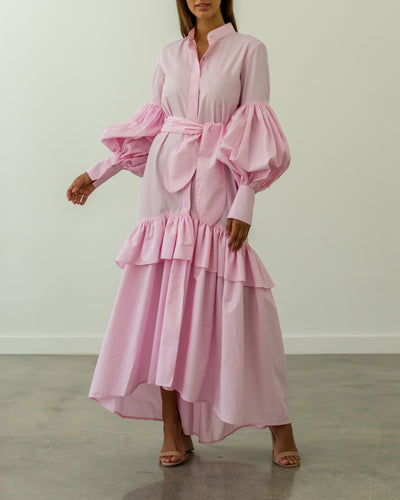 Amada Dress Pink - Boho Hunter