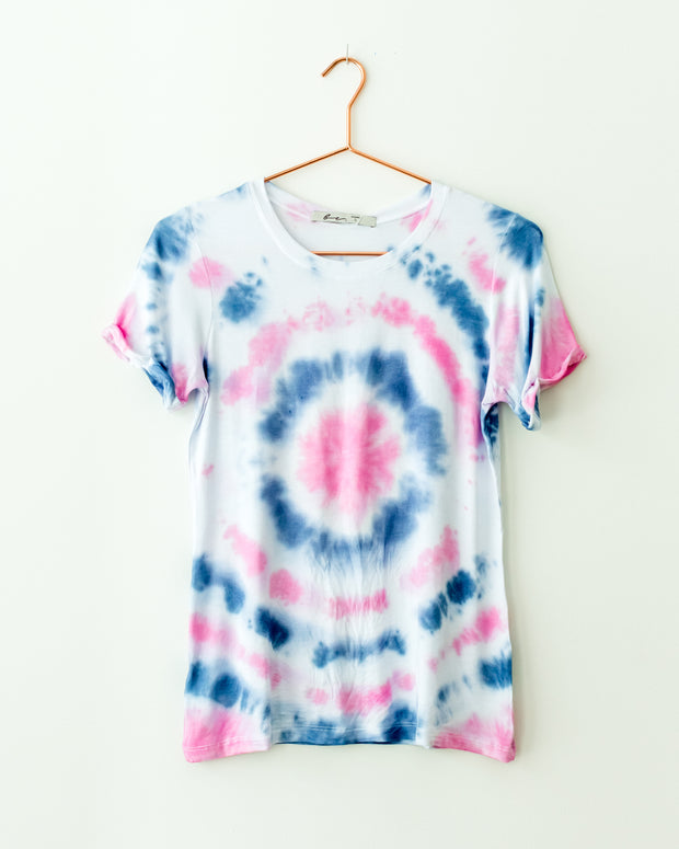 T Shirt Indigo Tie Dye - Boho Hunter