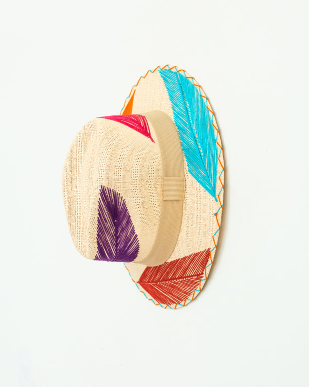 Palma Pluma Bright Hat - Boho Hunter