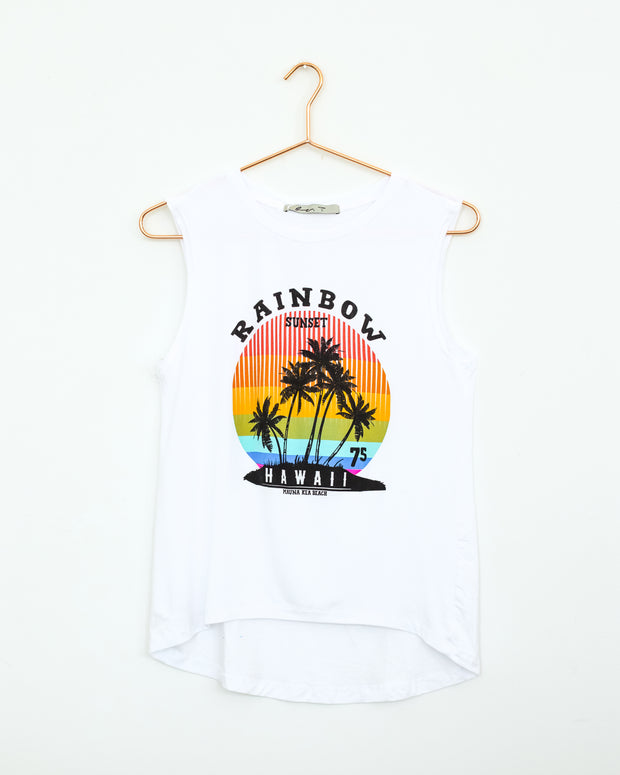 Hawaii Rainbow White