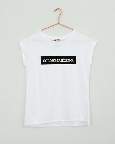 Colombianisima White T Shirt