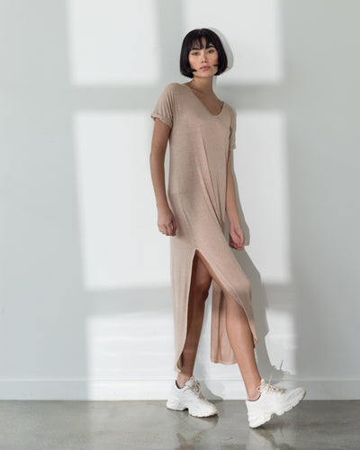 Acacia Dress Sand - Boho Hunter