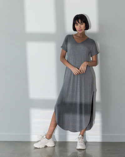Acacia Dress Grey - Boho Hunter