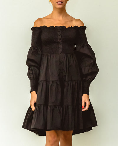 Marianne Mini Dress Black