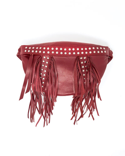 Ana Belt Bag Burgundy