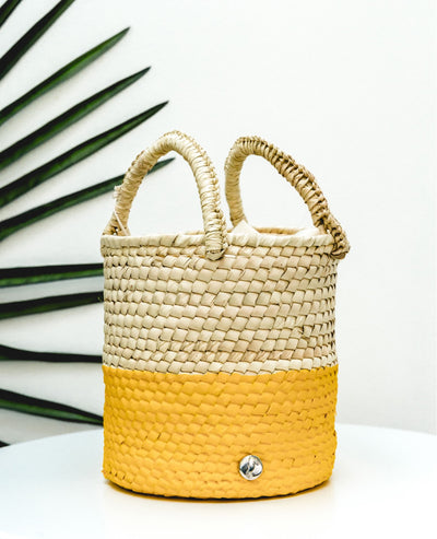Bucket Bag Yellow - Boho Hunter