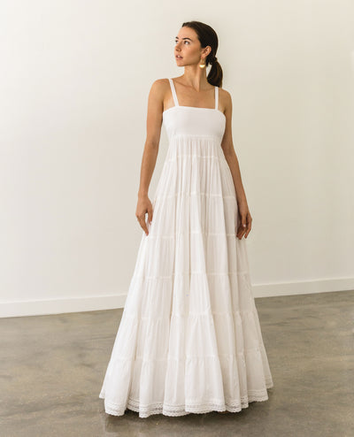 Julieta Maxi Dress White