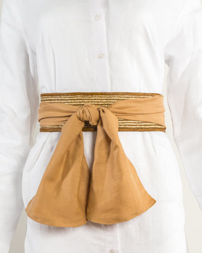 Zenu Belt Stripes/Beige - Boho Hunter