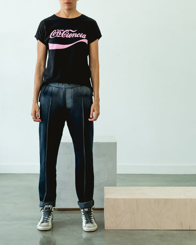 Conciencia Tee Black/Pink - Boho Hunter