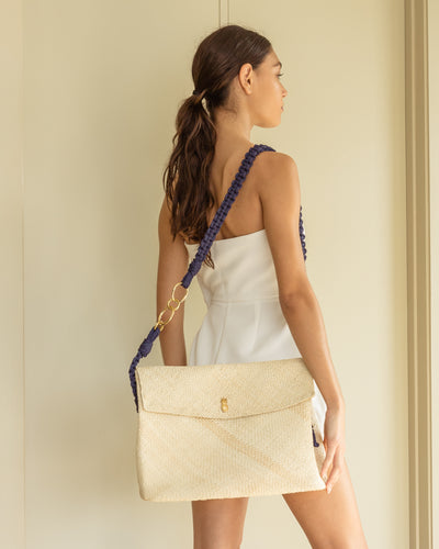 Maria Bag XL Strap Blue - Boho Hunter