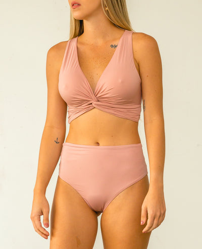 Lyria Two Piece Pale Pink