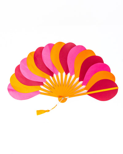 Fan Orange/Fucsia