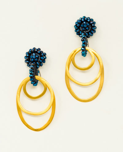 Nuqui Blue Earrings