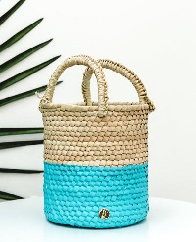Bucket Bag Blue - Boho Hunter