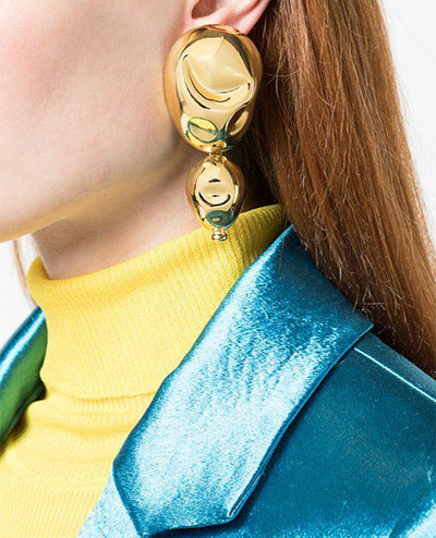 Oriente Earrings Gold