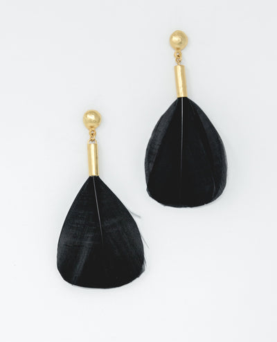 Puloy Earrings Black