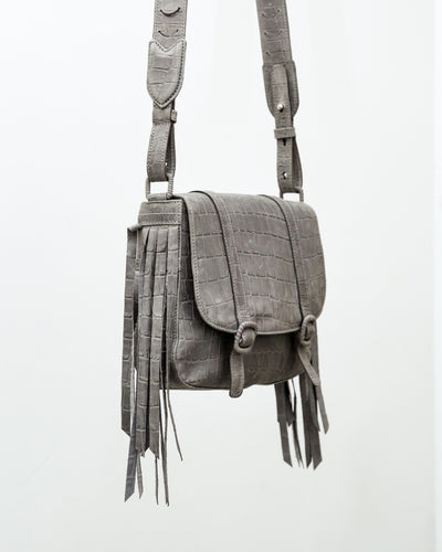 Fabiola Mini Bag Grey - Boho Hunter