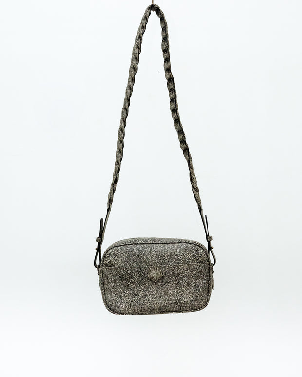Bea Bag Croco Grey - Boho Hunter