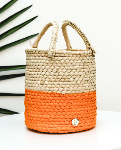 Bucket Bag Orange