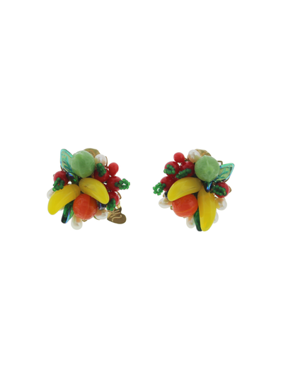 Fruits Party with Pearls Earrings - Boho Hunter