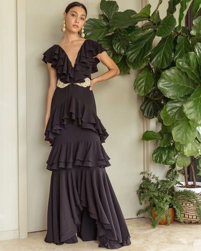 Altamira Dress Black - Boho Hunter