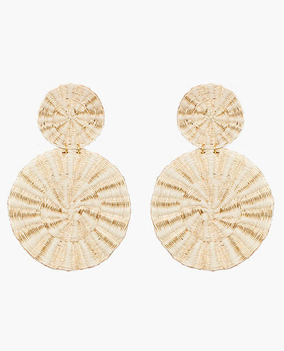 Disc Earrings