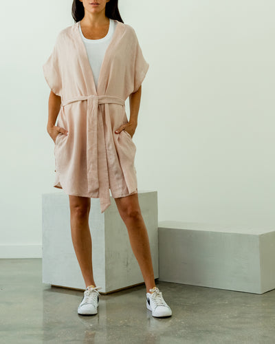Andy Linen High Low Tunic